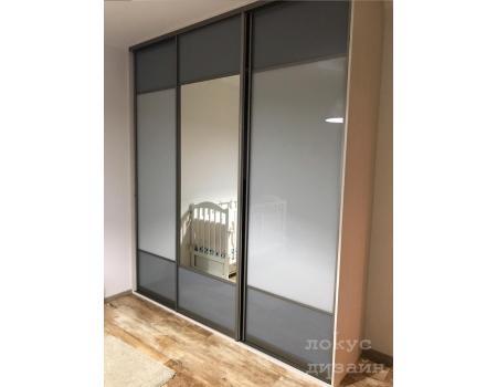 шкаф купе со стеклом 24