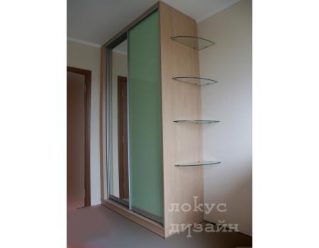 шкаф купе со стеклом 15