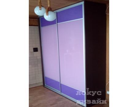 шкаф купе со стеклом 1