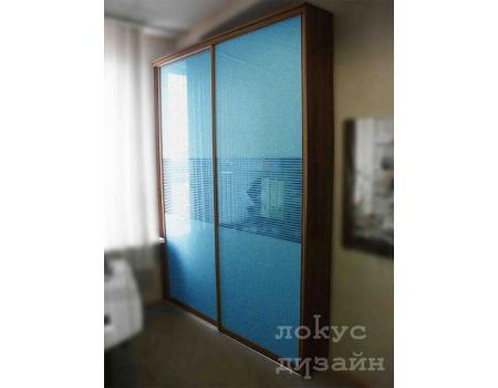 шкаф купе со стеклом 11