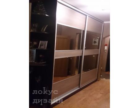 шкаф купе со стеклом 14