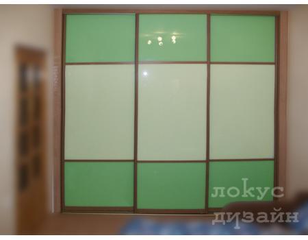 шкаф купе со стеклом 17