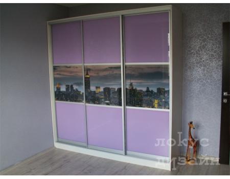 шкаф купе со стеклом 18